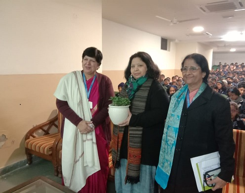 Organic welcome of honorable chief guest
