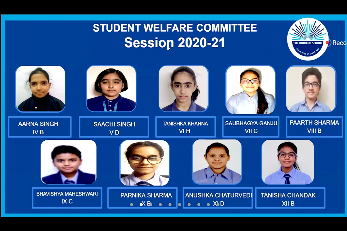 Appointed members of the Student Welfare Committee