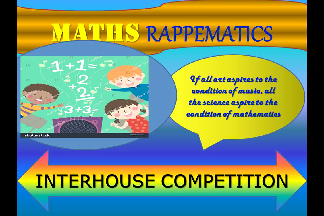 INTER HOUSE MATHEMATICS COMPETITION