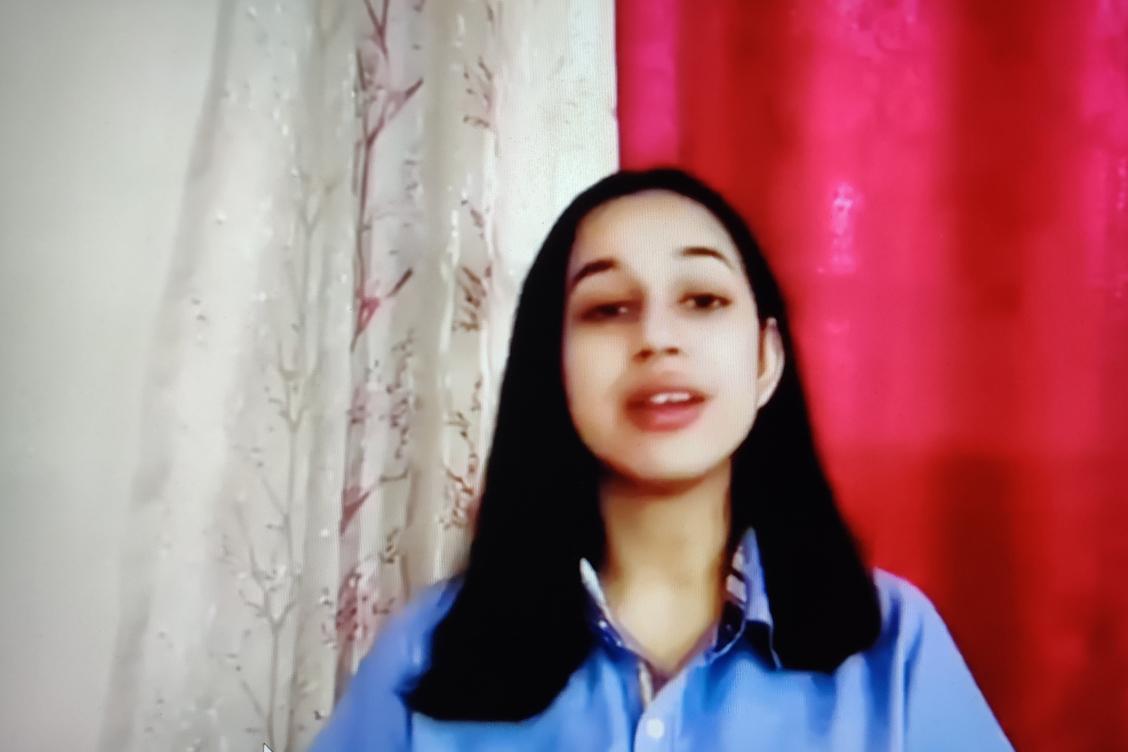 Swara Misra Performing 'You Raise Me Up'