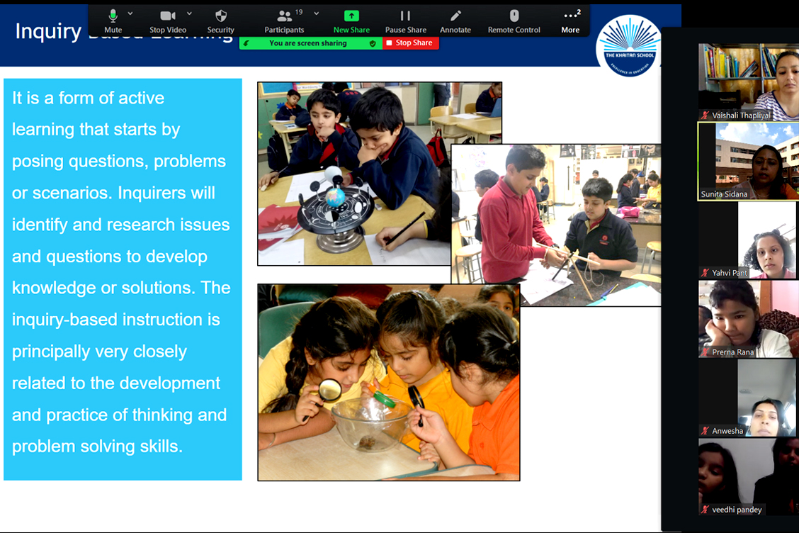_DISCUSSION ON INQUIRY BASED LEARNING TO DEVELOP KNOWLEDGE