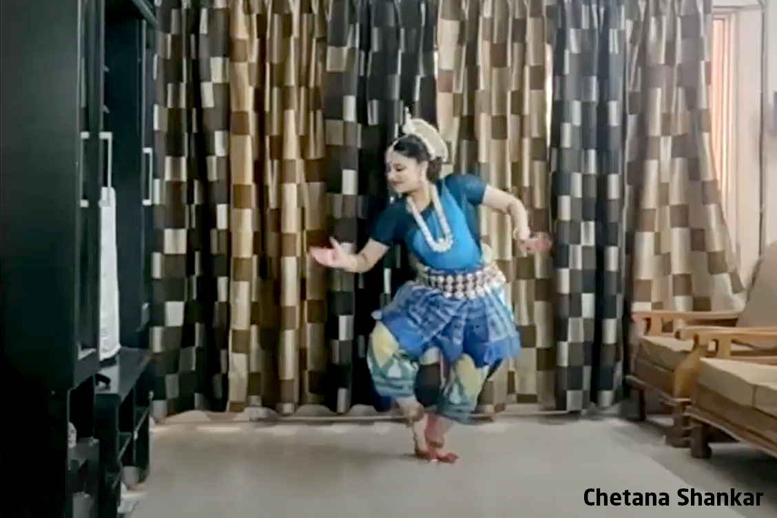 1. Odissi by Chetana Shankar