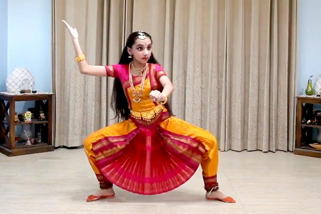 3. Raudra-Bharatnatyam by Sakshi Uberoi