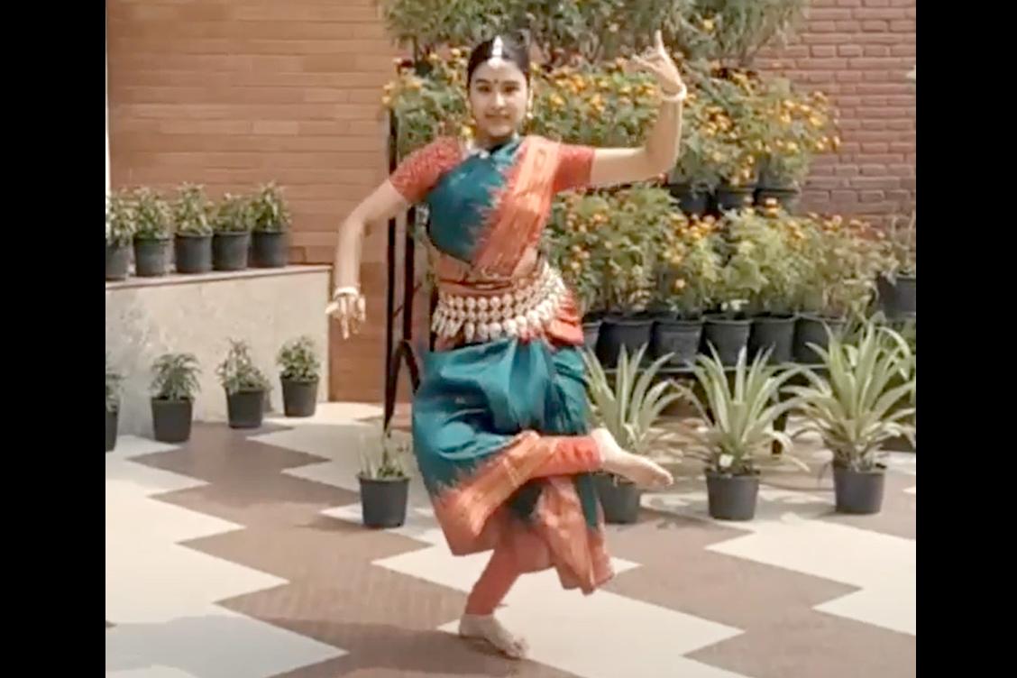 4. Saraswati Vandana by Mridula Nayak