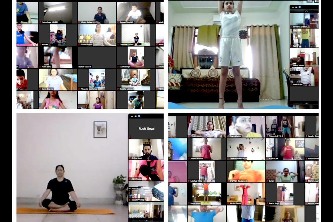 International Yoga Day at TKS