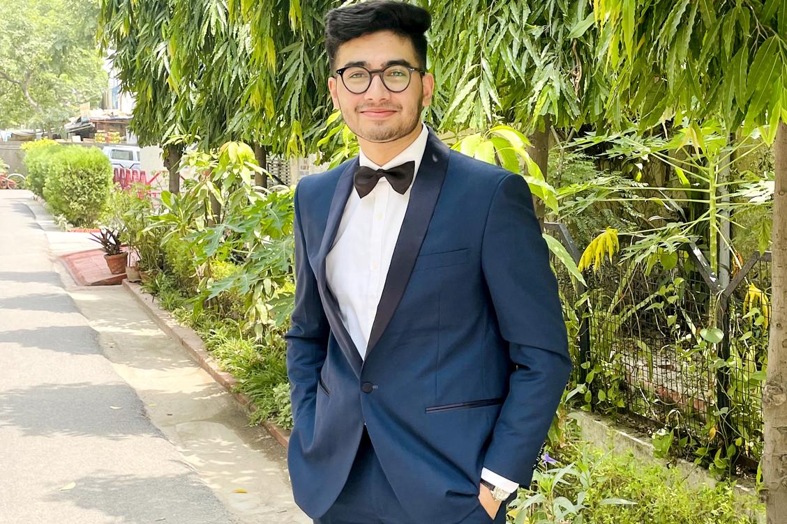 Mr Abhimanyu Narayanan - BEST DRESSED STUDENT (Male)