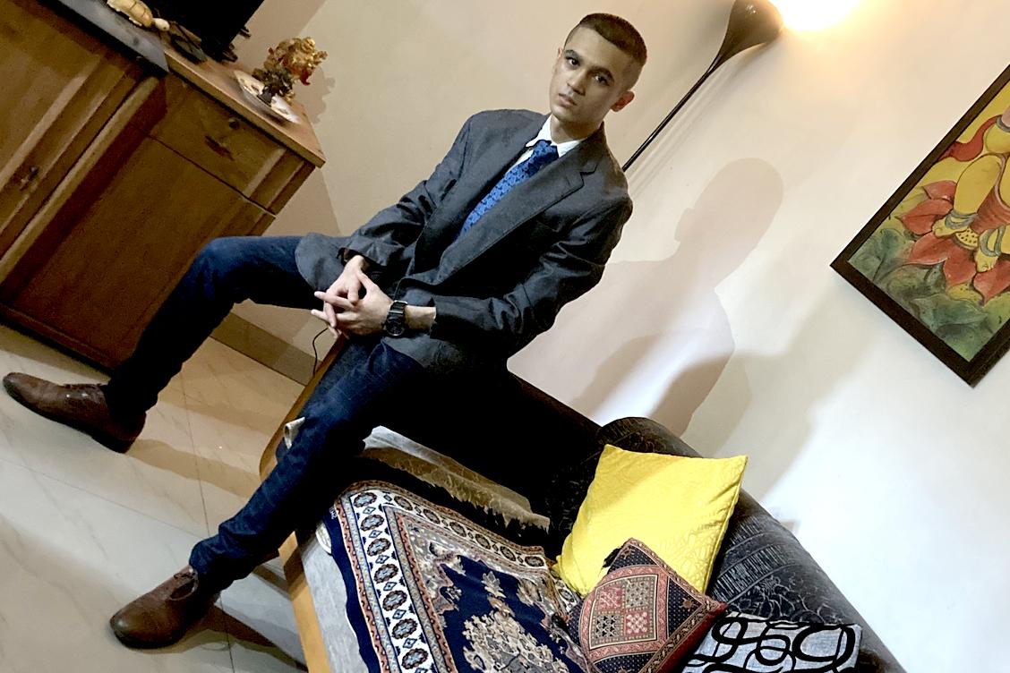 Mr Rajdeep Mookherjee - BEST DRESSED STUDENT (Male)