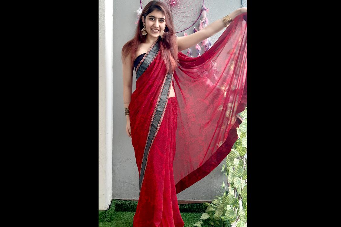 Ms Kavya Chopra - BEST DRESSED STUDENT (Female)